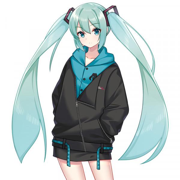 Áo khoác Hatsune Miku thu đông MOEYU (mẫu 1)