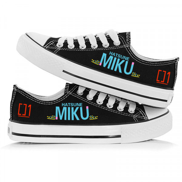 Giày Hatsune Miku Low Top Sneaker