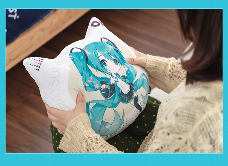 Gối ôm Hatsune Miku V4C gối phòng khách