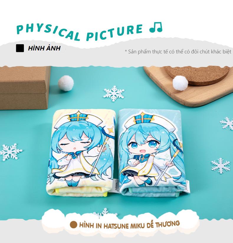 Khăn tắm Hatsune Miku bộ 2 chiếc