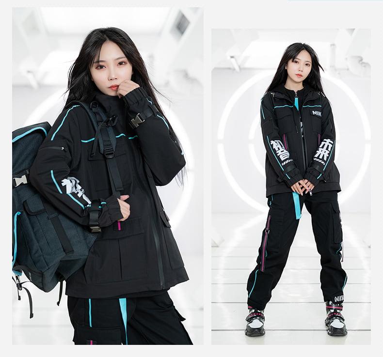 Áo khoác gió Hatsune Miku thời trang