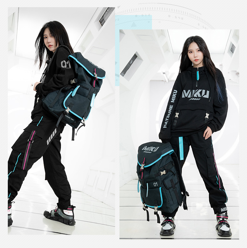 Balo Hatsune Miku balo thời trang học sinh