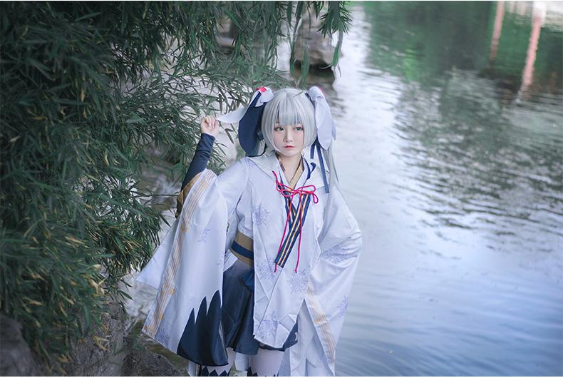 Trang phục Cosplay Snow Miku 2018